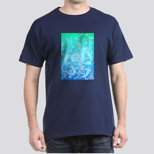 Underwater Light on Aqua Dark T-Shirt