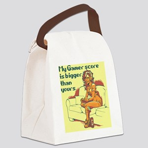 Gamer Girl Canvas Lunch Bag