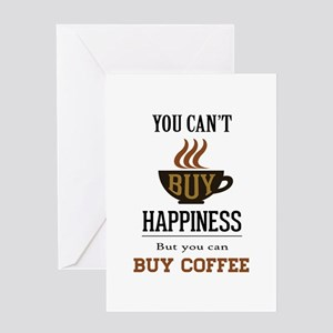 Happiness - Buy Coffee Greeting Card