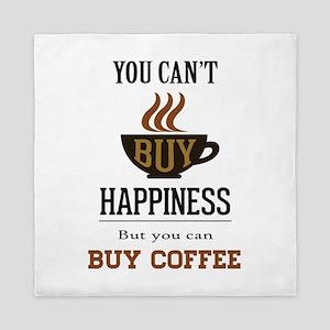 Happiness - Buy Coffee Queen Duvet