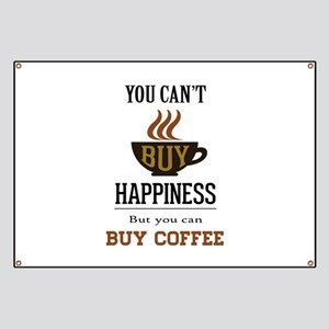 Happiness - Buy Coffee Banner