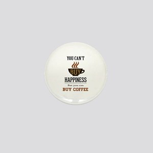 Happiness - Buy Coffee Mini Button