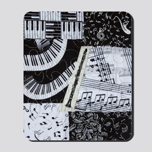 0562-clarinet Mousepad