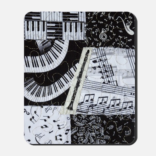 0562-clarinet Mousepad