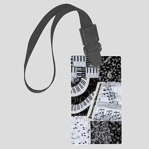 0562-clarinet Large Luggage Tag