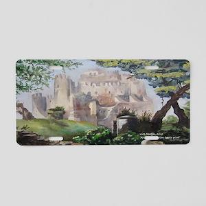 Calabrian Castle Aluminum License Plate
