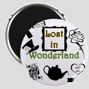 Lost in Wonderland Magnet