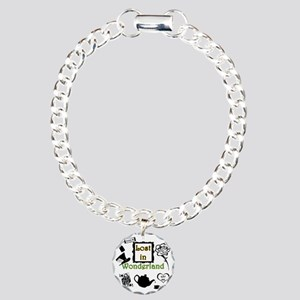 Lost in Wonderland Charm Bracelet, One Charm