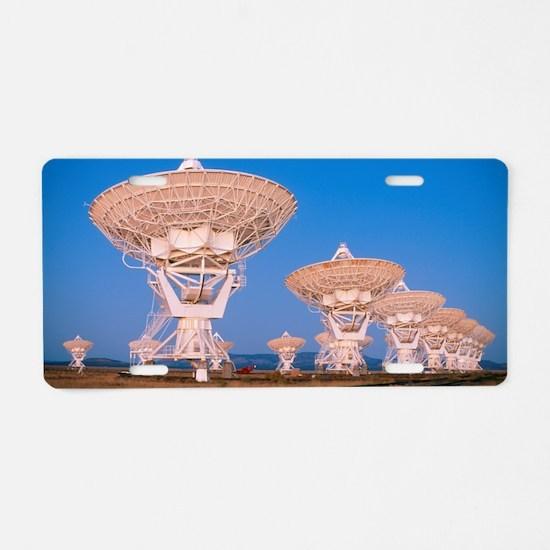 Very Large Array (VLA) radi Aluminum License Plate