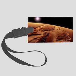Valles Marineris, Mars Large Luggage Tag
