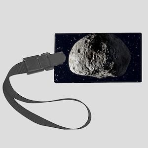 Vesta asteroid, artwork Large Luggage Tag