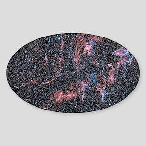 Veil nebula supernova remnant Sticker (Oval)
