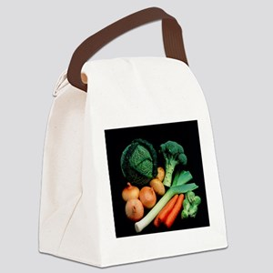 Vegetable selection Canvas Lunch Bag