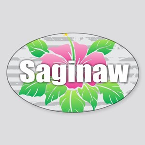 Saginaw - Hibiscus Sticker