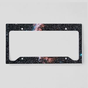 Veil nebula supernova remnant License Plate Holder