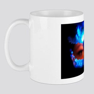 View from inside the mouth of dental cr Mug
