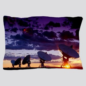 Very Large Array (VLA) radio antennae Pillow Case
