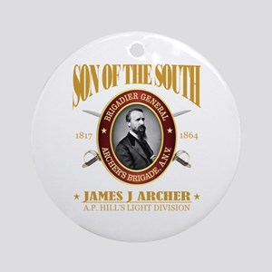 James J Archer (SOTS2) Round Ornament