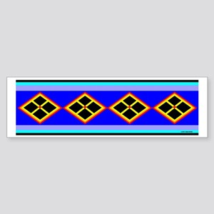 SEMINOLE INDIAN PATCHWORK Sticker (Bumper)