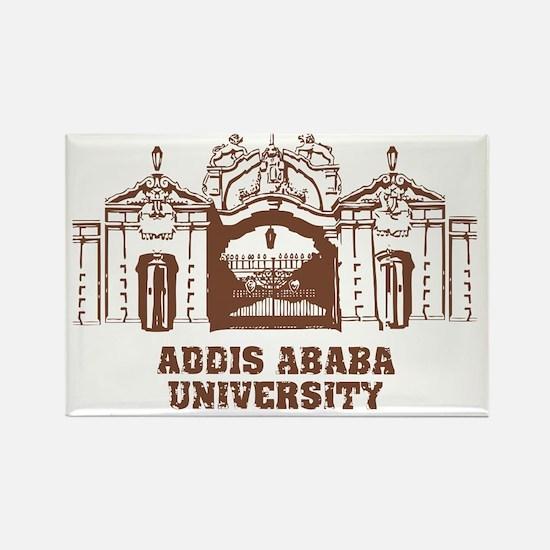 addis ababa university Rectangle Magnet