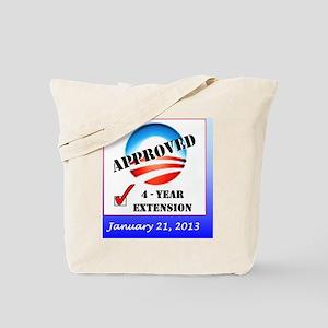 Obama Approval Rating Inauguration shirt Tote Bag