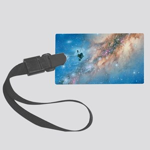 Voyager spacecraft Large Luggage Tag
