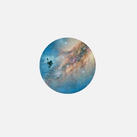 Voyager spacecraft Mini Button