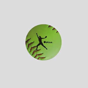 iPitch Fastpitch Softball (right hande Mini Button