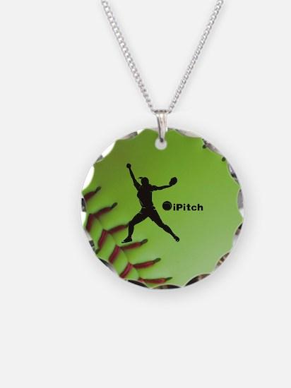 iPitch Fastpitch Softball (r Necklace