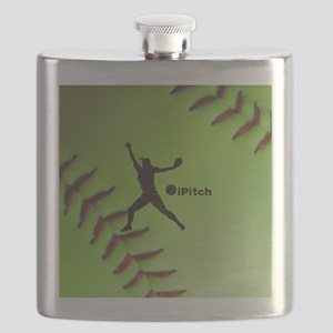 iPitch Fastpitch Softball (right handed) Flask