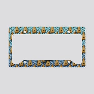 Bowed Psaltery Toiletry Bag License Plate Holder