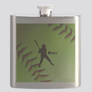 iHit Fastpitch Softball (right handed) Flask