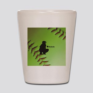 iCatch Fastpitch Softball Shot Glass