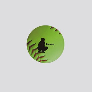 iCatch Fastpitch Softball Mini Button