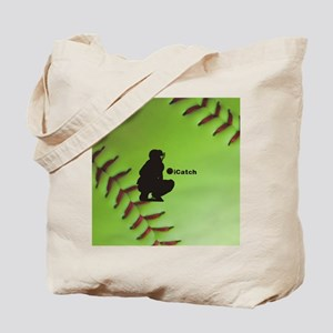 iCatch Fastpitch Softball Tote Bag