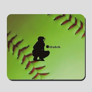 iCatch Fastpitch Softball Mousepad
