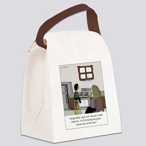 Staccato Touch Canvas Lunch Bag