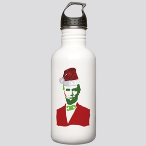 Merry Xmas, Abe! Stainless Water Bottle 1.0L