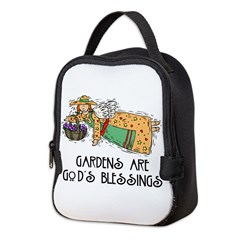 Gardens are Gods Blessing Neoprene Lunch Bag