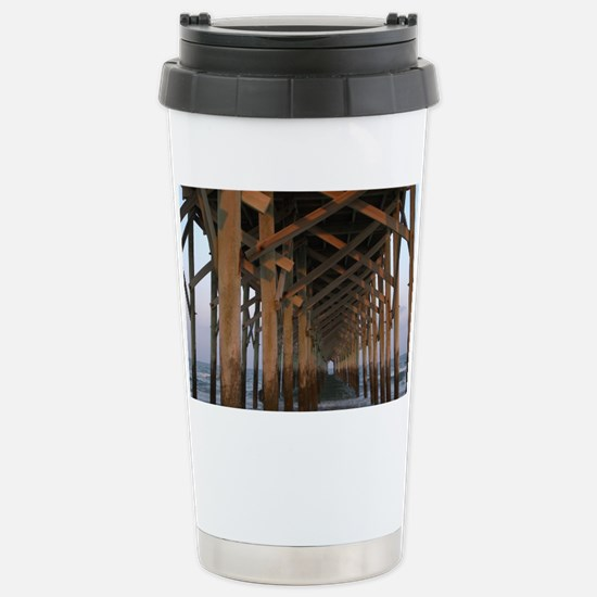 000-Pawleys Pier Stainless Steel Travel Mug