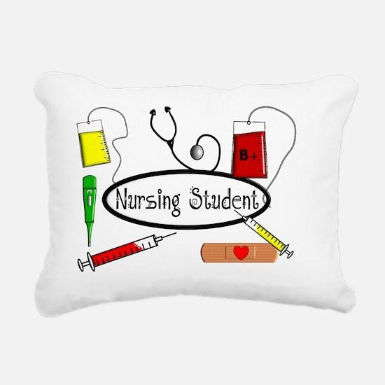 Nursing STudent Pillow Rectangular Canvas Pillow