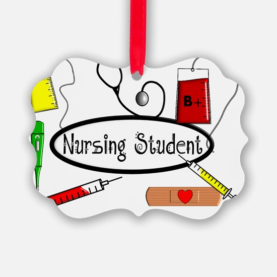 Nursing STudent Pillow Ornament