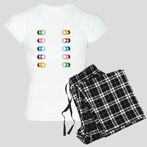 Matryoshka Flip Flops Women's Light Pajamas