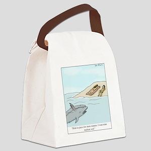 Medium Well Canvas Lunch Bag