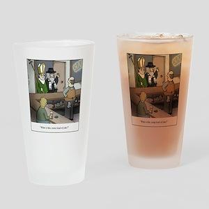 Some Kind of Joke Drinking Glass