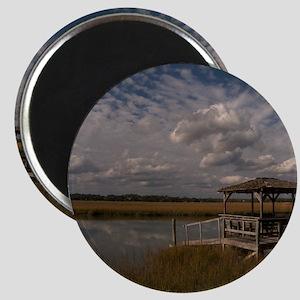 001-Dock Clouds Magnet