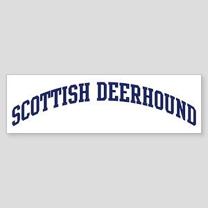 Scottish Deerhound (blue) Bumper Sticker