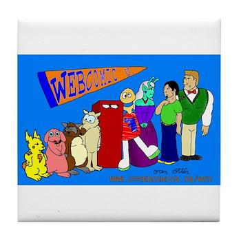 Webcomic U Tile Coaster