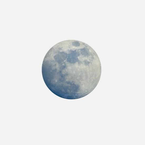 Waxing gibbous Moon Mini Button
