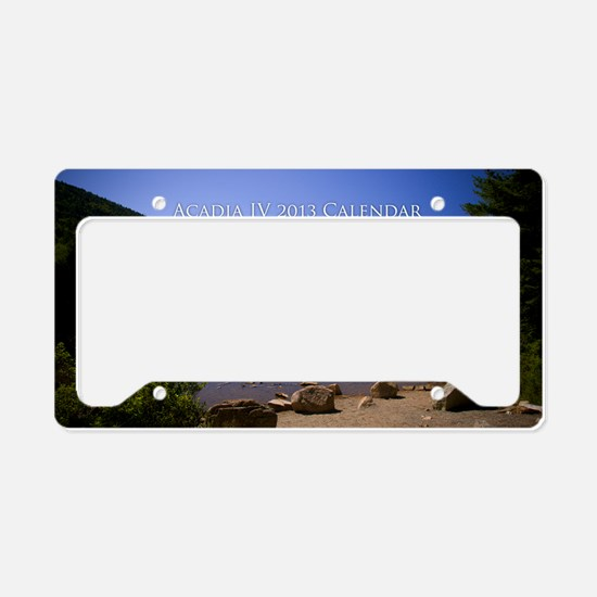 Acadia IV 2013 License Plate Holder